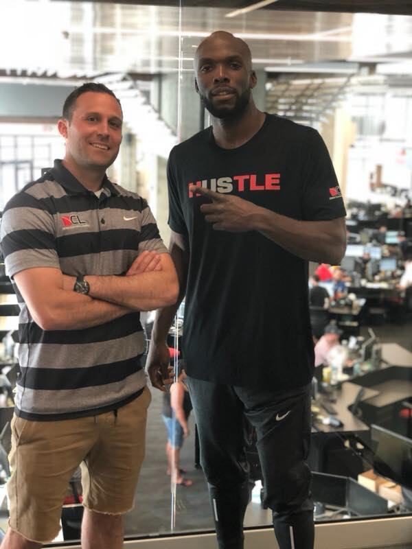 12x Gold Medalist LaShawn Merritt Visits DCL Headquarters